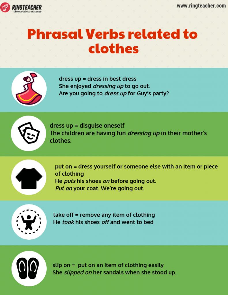 Phrasal verbs ropa