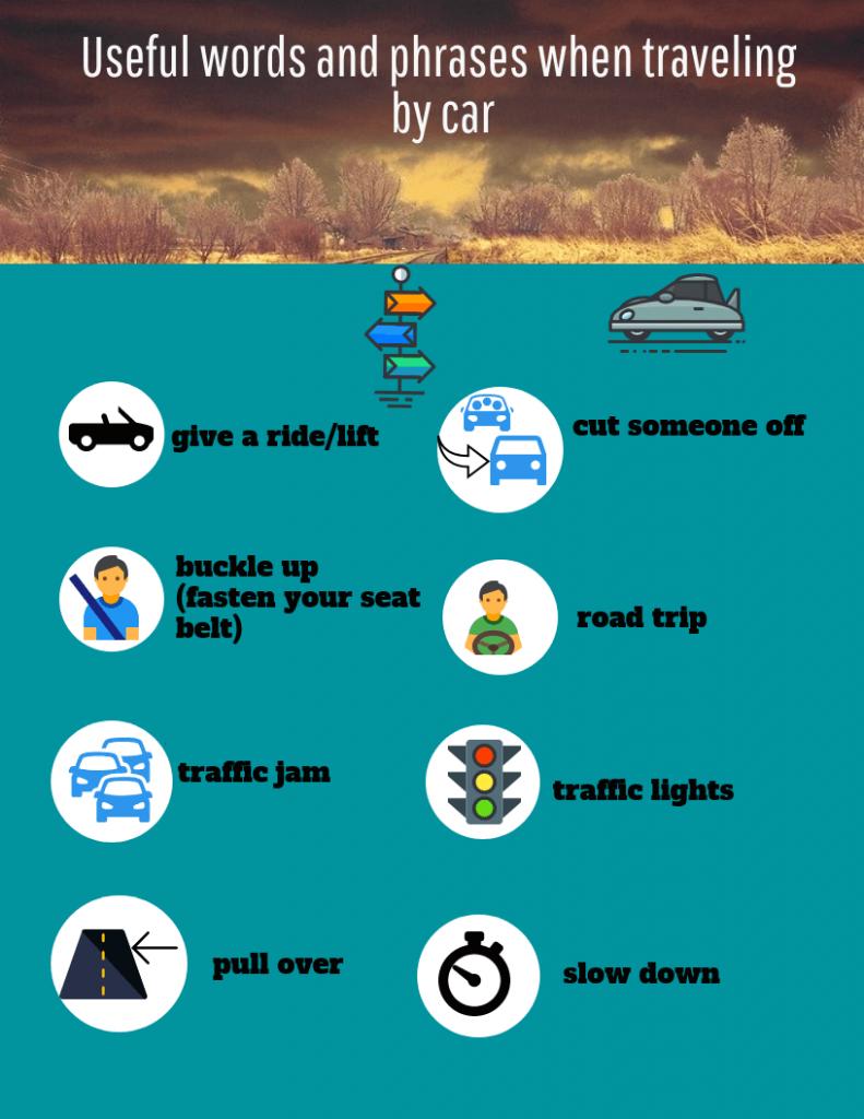Vocabulario-viajer-coche-ingles