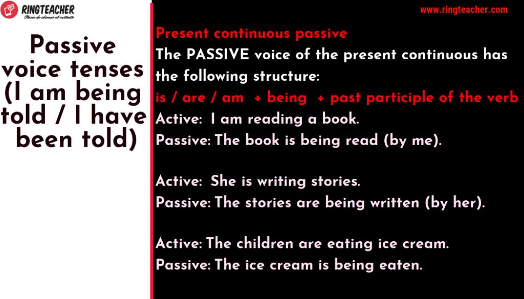 voz pasiva inglés 2