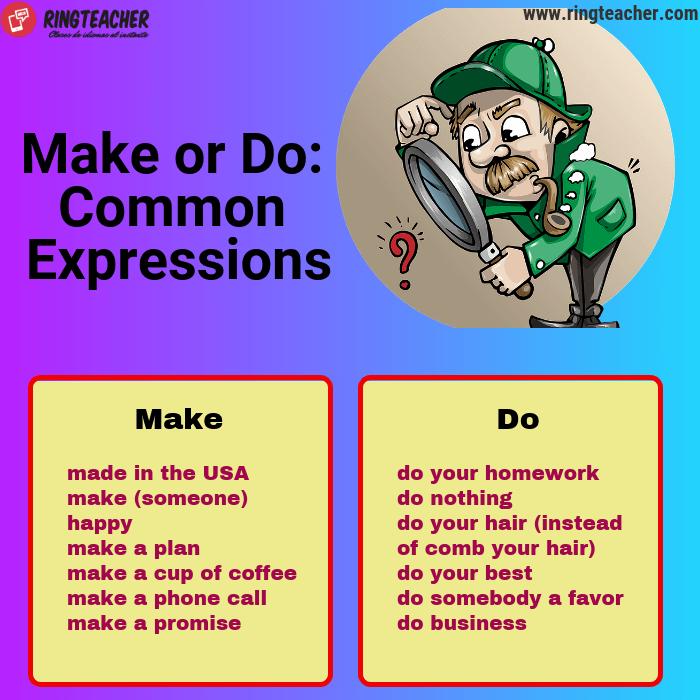 Expresiones comunes con make y do